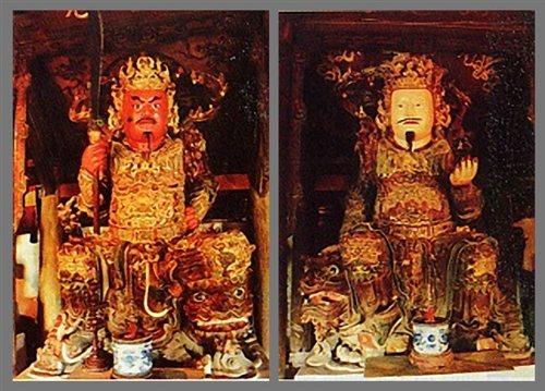 Tìm hiểu về hai ngài Hộ pháp trong đạo Phật