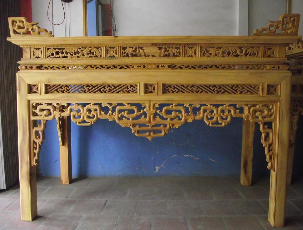 bàn thờ triện tàu