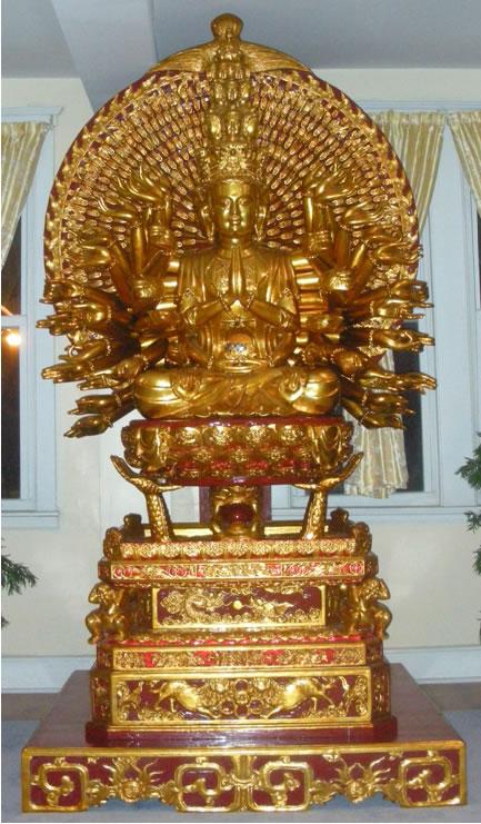 Phật Bà Quan Âm Nghìn Mắt Nghìn Tay